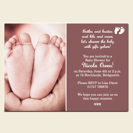Make your baby shower invitations unique and different dotty about baby shower invitations filmwisefo