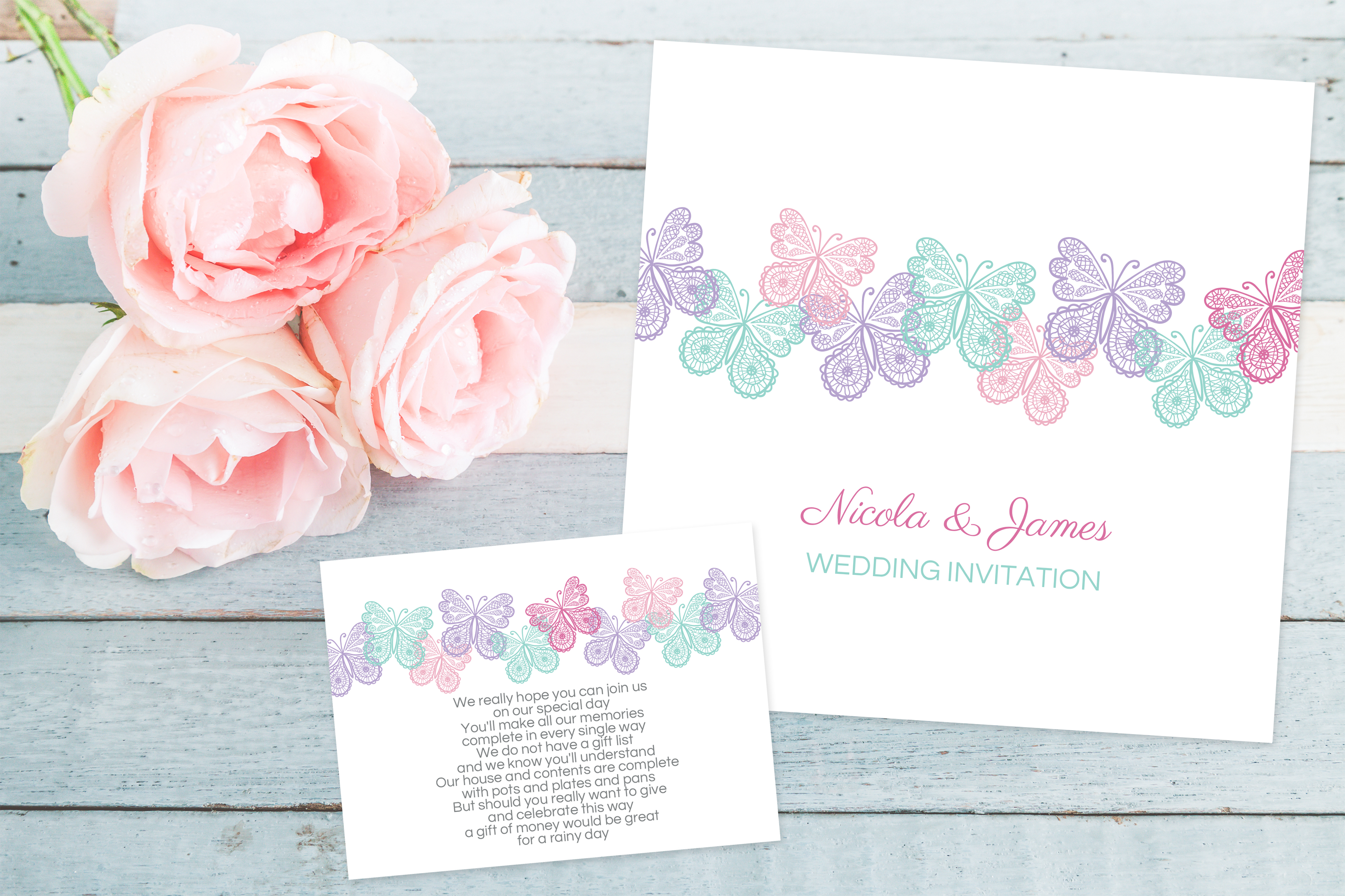 Pastel Wedding Invitation Inspiration Dotty about Paper Latest News