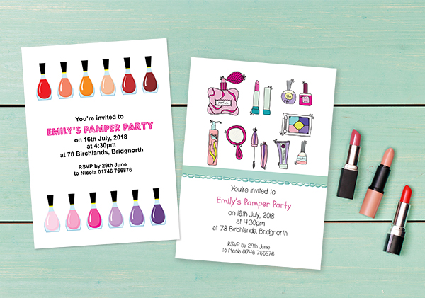 P&er Party Invitations & Childrenu0027s Pamper Party Ideas Dotty about Paper Latest News