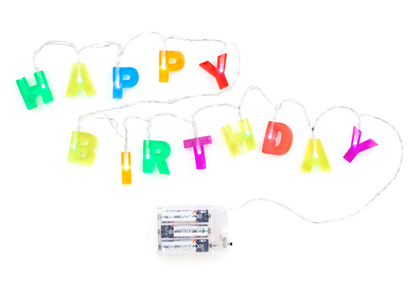 Happy Birthday Fairy Lights by www.gifts.co.uk
