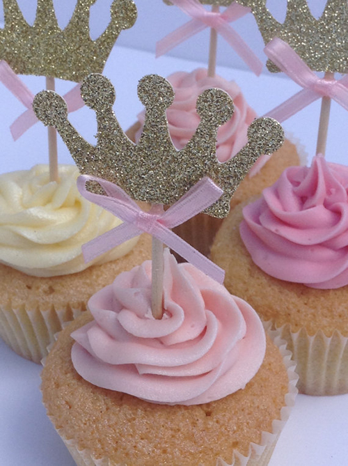 Princess Birthday Party Cardoodle on Etsy - Cake Toppers