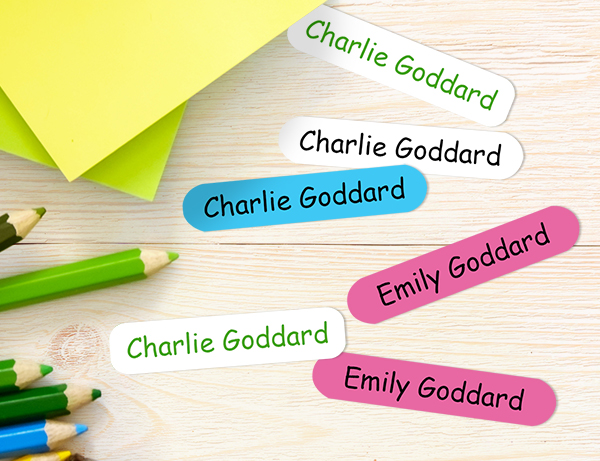 The Card Gallery - Back to School - Name Labels