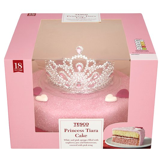 Princess Party Cake in box