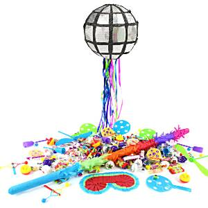 Disco Ball Pull Piñata Kit from Party Delights