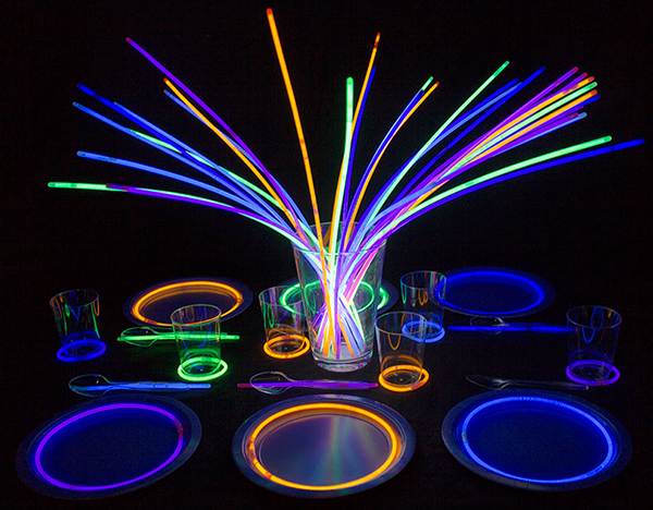 GLOW STICK PARTY IDEAS by Party Delights