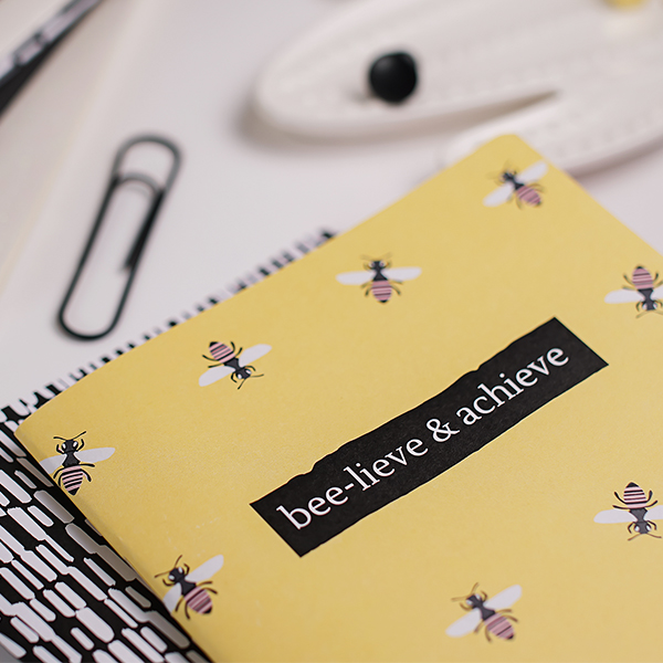 Getting Organised Desk Stationery Tips Pink Bee Small
