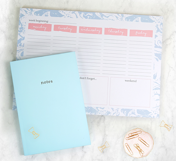 World Stationery Day - Desk Planner