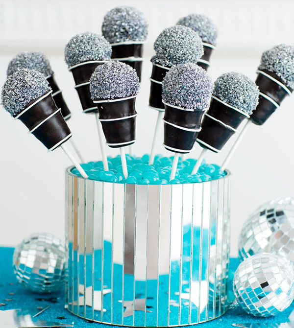 Music Party Themes - Cake Pops by Scholastic