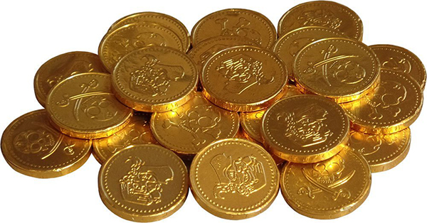 Plan a Pirate Party! - Amazon - Gold Coins