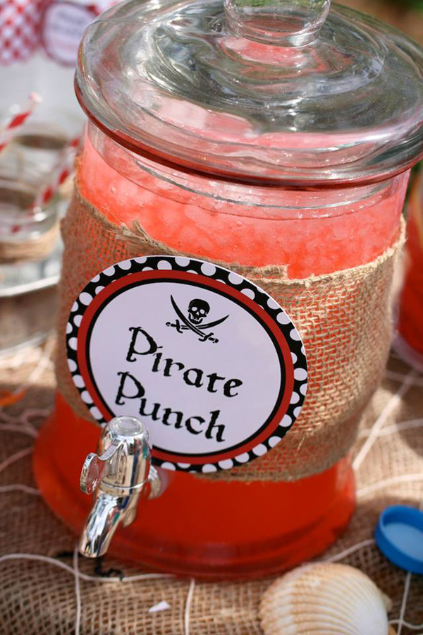 Plan a Pirate Party! - Kara's Party Ideas - Punch