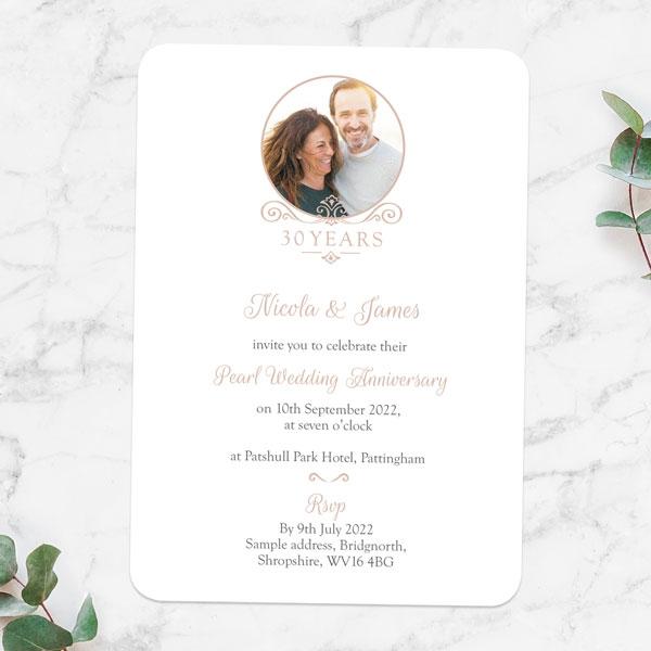 30th-Wedding-Anniversary-Invitations-Ornate-Scroll-Photo