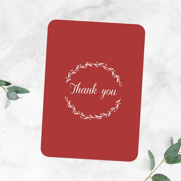 40th-Anniversary-Thank-You-Cards-Photo-Strip-Leaf-Pattern