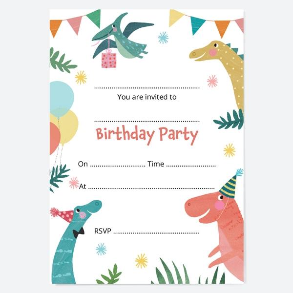 kids-birthday-invitations-jurassic-dinosaur