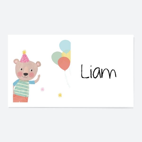 dotty-party-bear-party-sticker