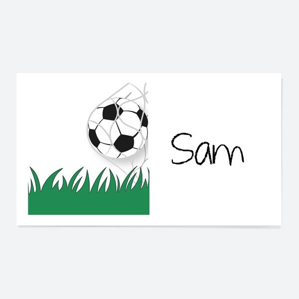 kickin-football-party-sticker