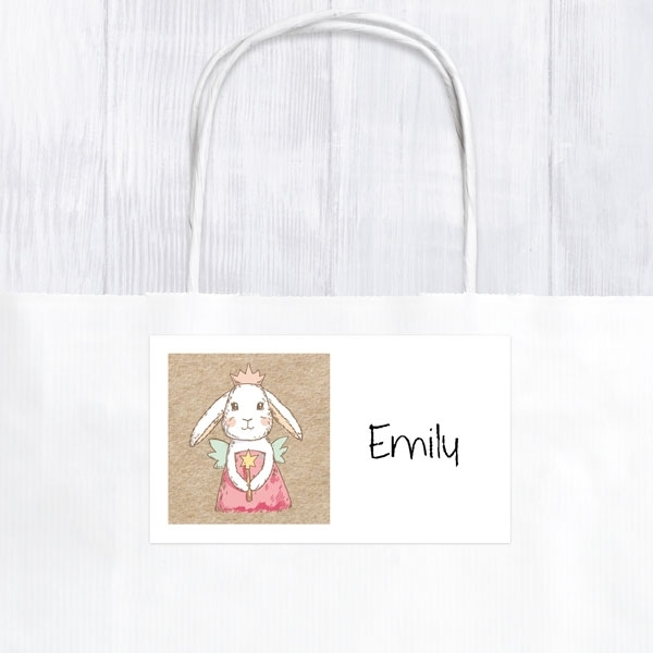Bunny Fairy - Party Bag & Sticker - Pack of 10