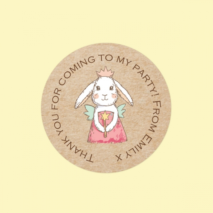 Bunny Fairy - Sweet Bag Stickers - Pack of 35
