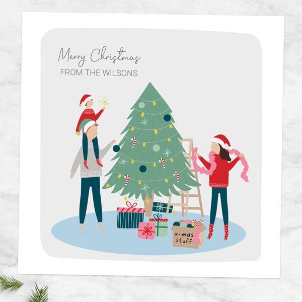 personalised-christmas-cards-treasured-memories-decorating-tree