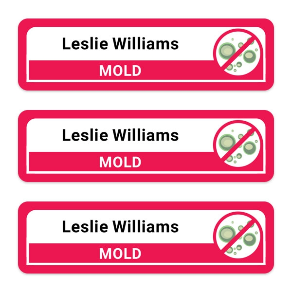 Care-Home-Medium-Personalised-Stick-On-Waterproof-(Equipment)-Allergy-Name-Labels-Mold-Pack-of-42