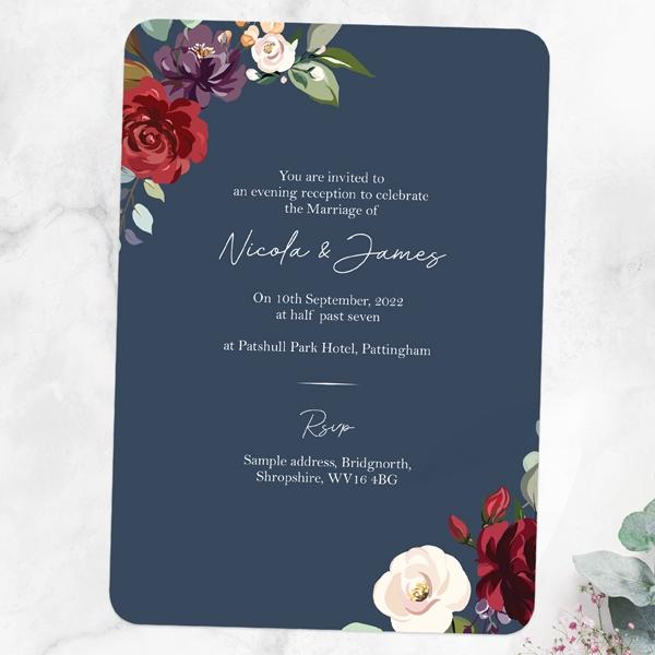 Boho-Jewel-Flowers-Evening-Invitations