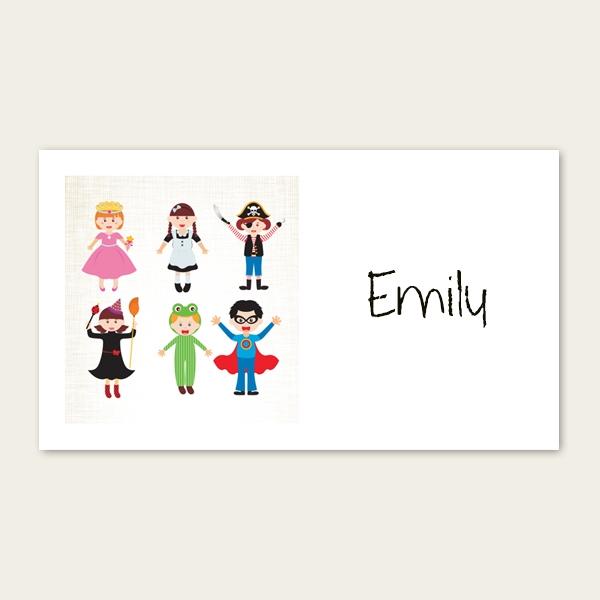 Fancy Dress - Party Sticker - Pack of 10