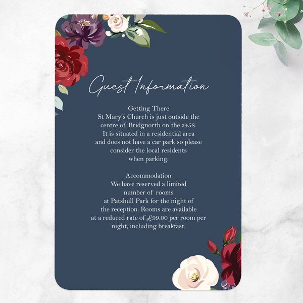 Boho-Jewel-Flowers-Guest-Information