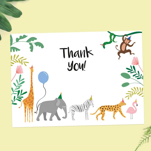 Ready-to-Write-Kids-Thank-You-Cards-Go-Wild-Party