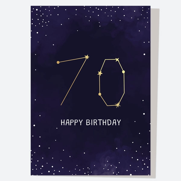 luxury-birthday-card-constellation-70th-birthday