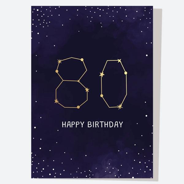 luxury-birthday-card-constellation-80th-birthday