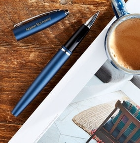 personalised-cross-rollerball-pen-blue
