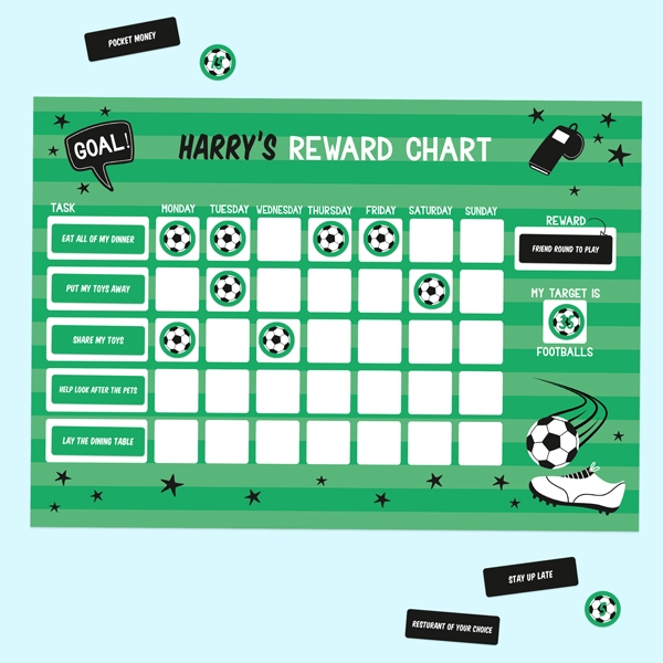 Football-Crazy-Personalised-Reward-Chart-&-Stickers