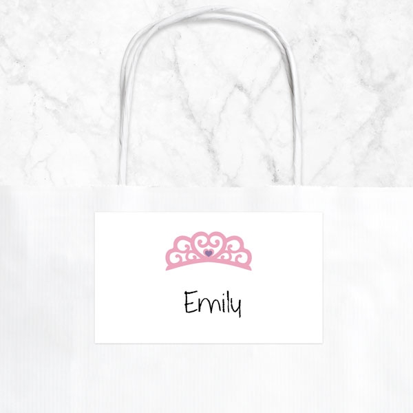 Princess Pamper Party - Party Bag & Sticker - Pack of 10