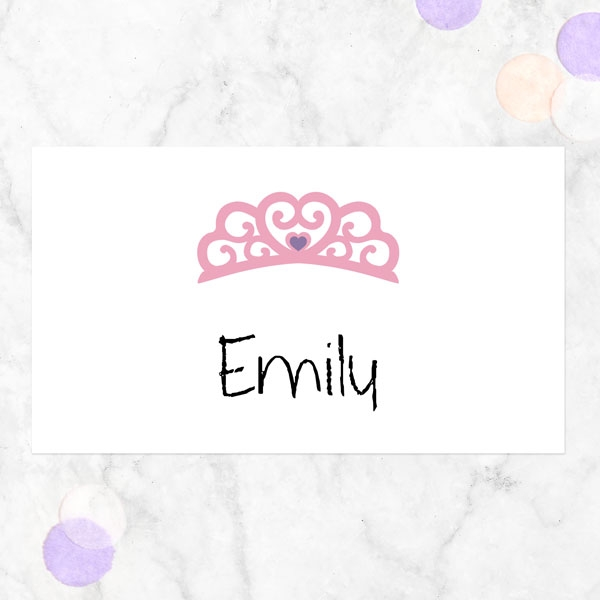 Princess Pamper Party - Party Sticker - Pack of 10