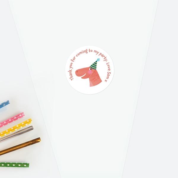 jurassic-dinosaur-sweet-cone-bag-sticker