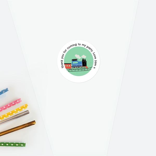 train-track-sweet-cone-bag-sticker