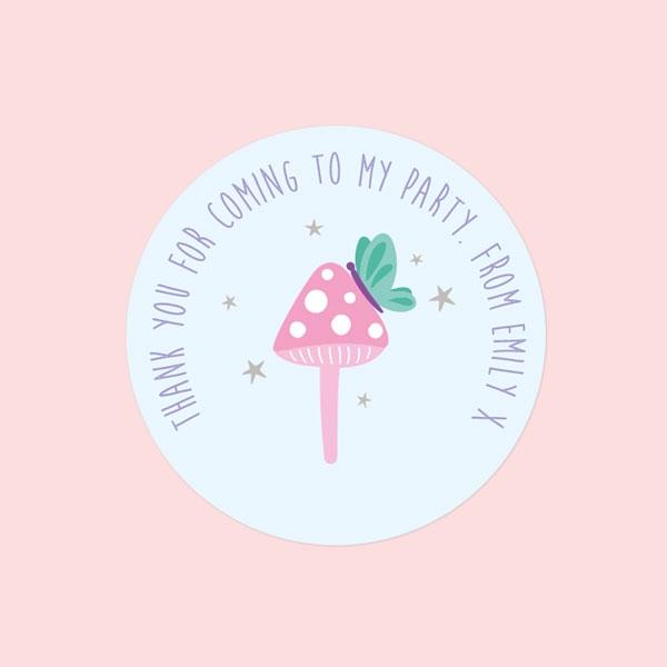 Fairy-Garden-Sweet-Cone-Sticker-Pack-of-35