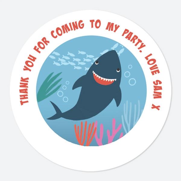 Shark Sweet Bag Stickers