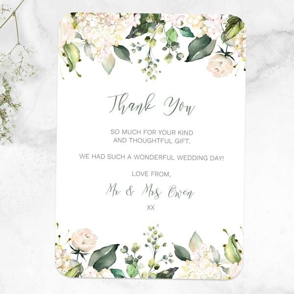 white-flower-garland-wedding-thank-you-cards