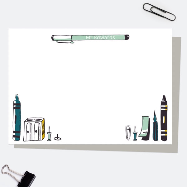 vertical-pens-green-personalised-a6-note-card