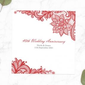 40th-Wedding-Anniversary-Invitations-Victorian-Lace