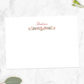 Anniversary-Thank-You-Cards-Peach-Rose-Border