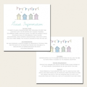 Bunting & Beach Huts - Guest Information