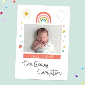 Christening-Invitations-Chasing-Rainbows-Use-Your-Own-Photo