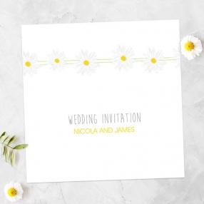 Delicate Daisies - Wedding Invitations