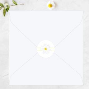 Delicate Daisies - Wedding Envelope Seals