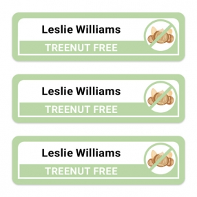 Care-Home-Medium-Personalised-Stick-On-Waterproof-(Equipment)-Allergy-Name-Labels-Tree-Nut-Pack-of-42