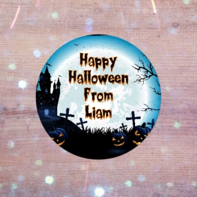 Haunted House - Halloween Sweet Bag Stickers - Pack of 35