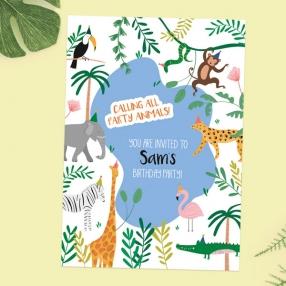 Kids-Birthday-Invitations-Go-Wild-Safari