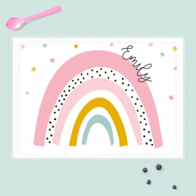 Personalised-Kids-Placemat-Chasing-Rainbows