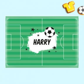 Personalised Kids Placemat - Football Crazy